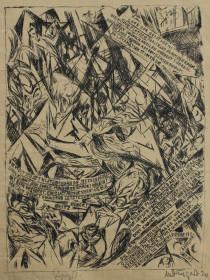 Max Dungert Cafe der Geistigen 1924