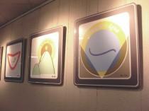 Teil der Ausstellung Eingangsbereich Fontane-Haus