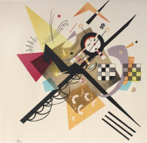 Wassily Kandinsky Ohne Titel Lithographie 1922