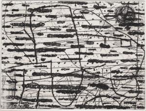 Hanns Schimansky, o.T., 1999, Radierung