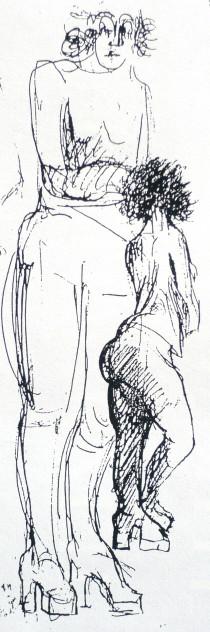 Siegfried Kühl Einladung zur Gründung des Fördervereins (Detail) 1997