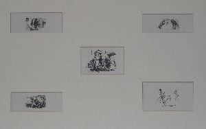 1. Fünf Illustrationen zu Goethes Übers: Benvenuto Cellini   Berlin: Bruno Cassierer 1913