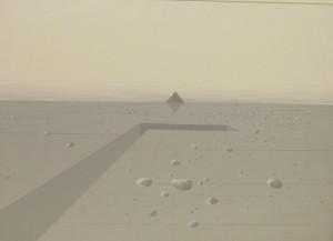 Landschaft mit Pyramide