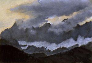 Dachstein im Abendlicht II